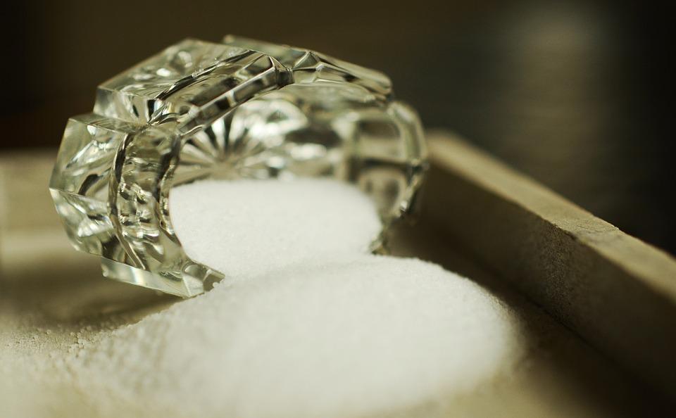 Salt, Crystal, Salt Shaker, Crystal Glass, Season