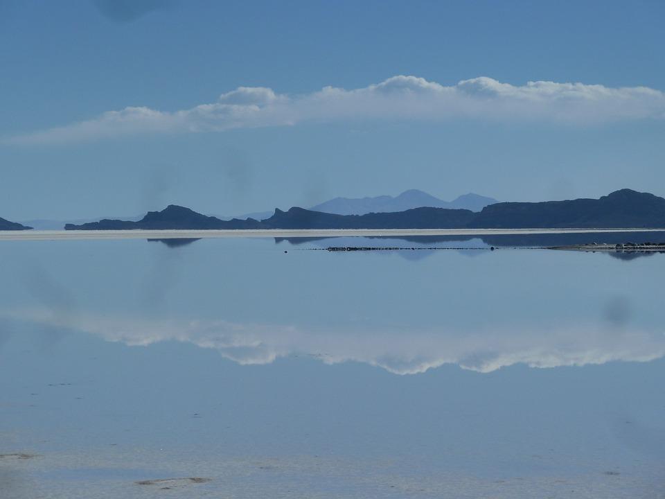Salt Flats, Uyuni, South America, Desert, Salt Lake