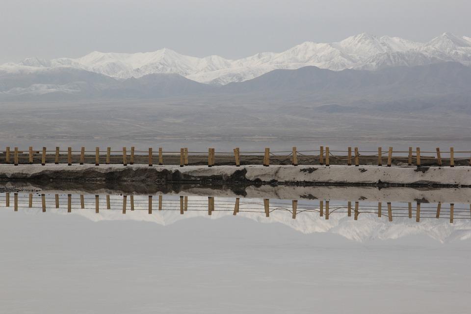 Qinghai, Chaka, Salt Lake