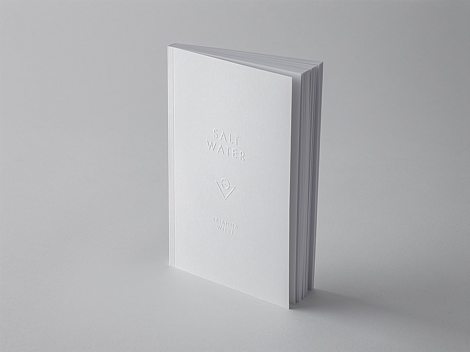 Blank, Empty, Paper, Minimalism, Book, Poetry, Salt