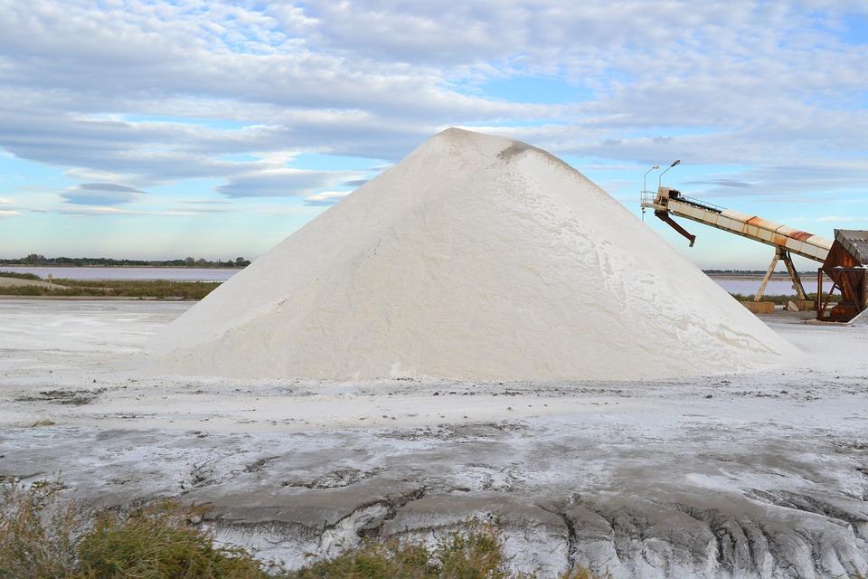 Saline, Salt, Salt Mountain, Aigues-mortes, Salt Hill