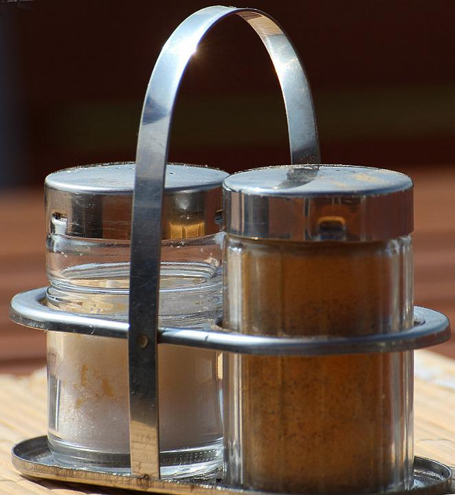 Pepper And Salt, Salt, Pepper, Salt Shaker, Spices