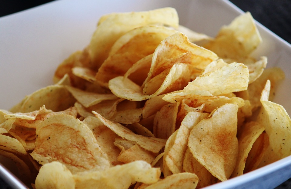 Chips, Shell, Salty, Delicious, Crispy, Eat, Snack