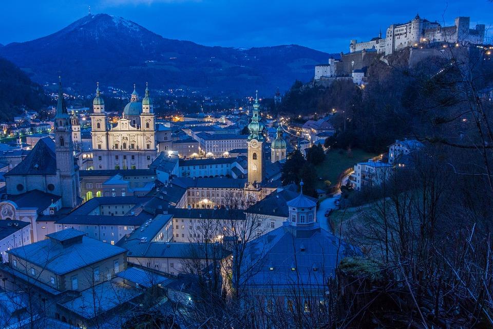 Salzburg, Austria, Mönchberg, Salzburg Cathedral