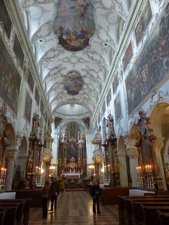 Collegiate Church Of St Peter, Salzburg, Roman Catholic
