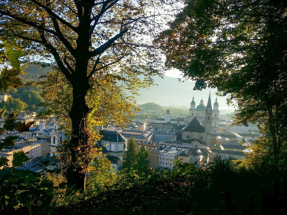 Salzburg, Austria, Autumn, Mönchberg