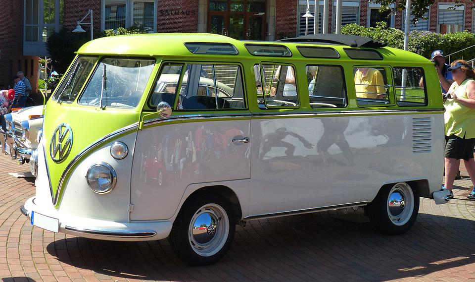 Oldtimer, Old Cars, Vw, Vw T1, Bulli, Samba