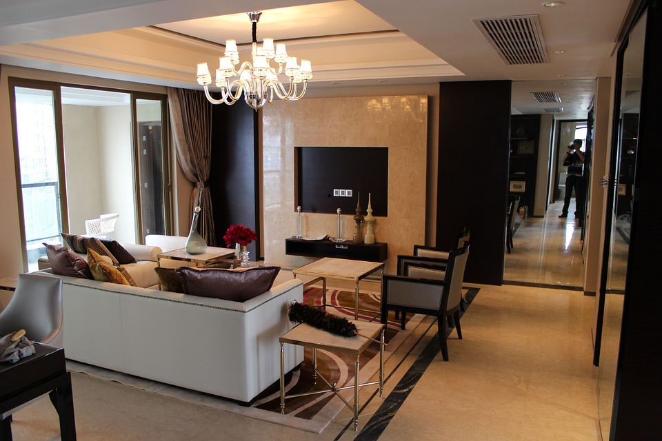 Sample Room, Decoration, Interior Design, Living Room