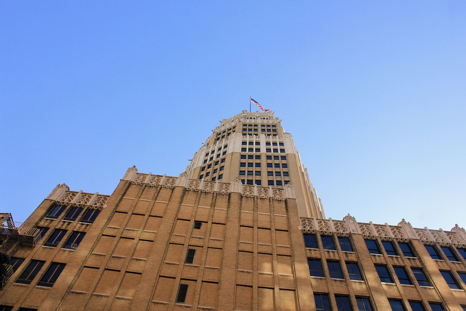 San Antonio, Texas, Town, Buildings, Usa, Skyscraper