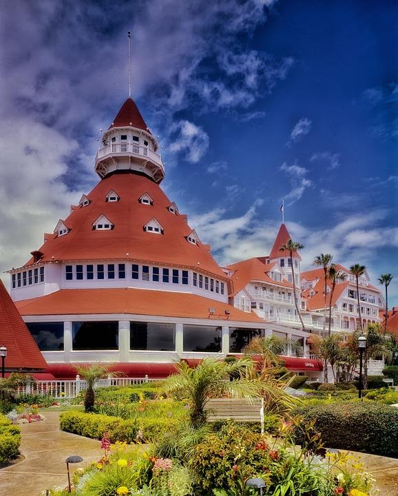 Hotel Del Coronado, San Diego, California, Lodging