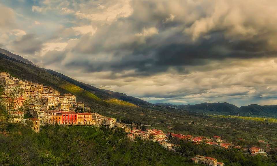 San Donato Val Comino, Lazio, National Park, Mountains