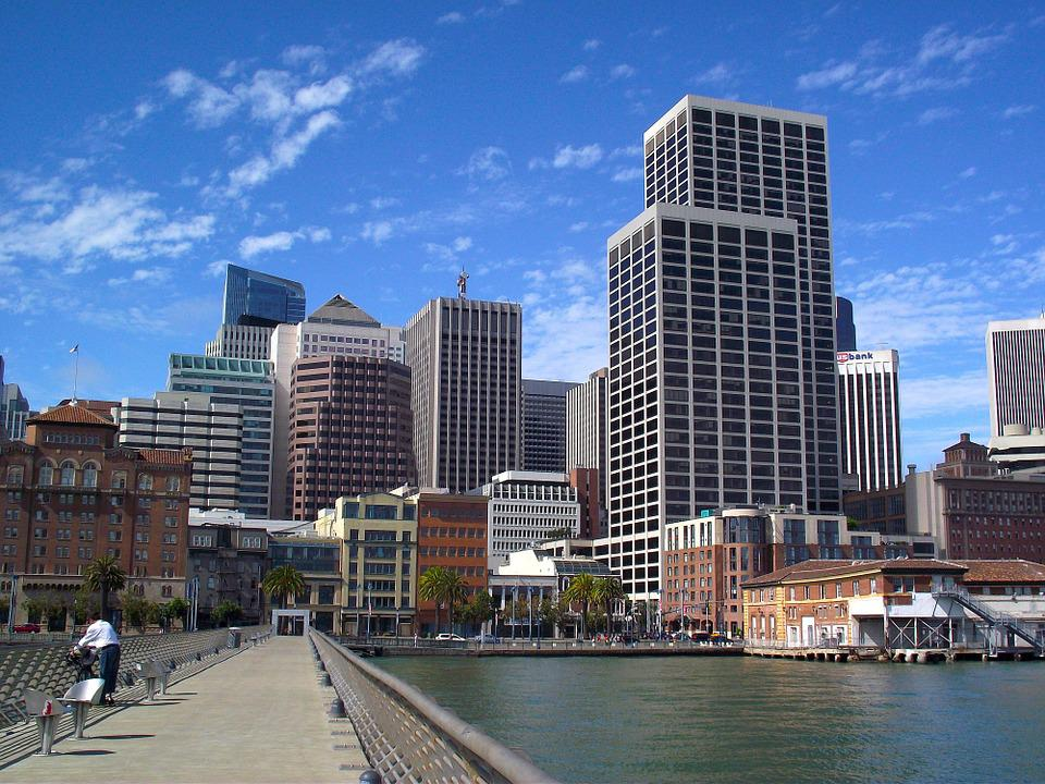 City, San Francisco, California, Downtown, Building
