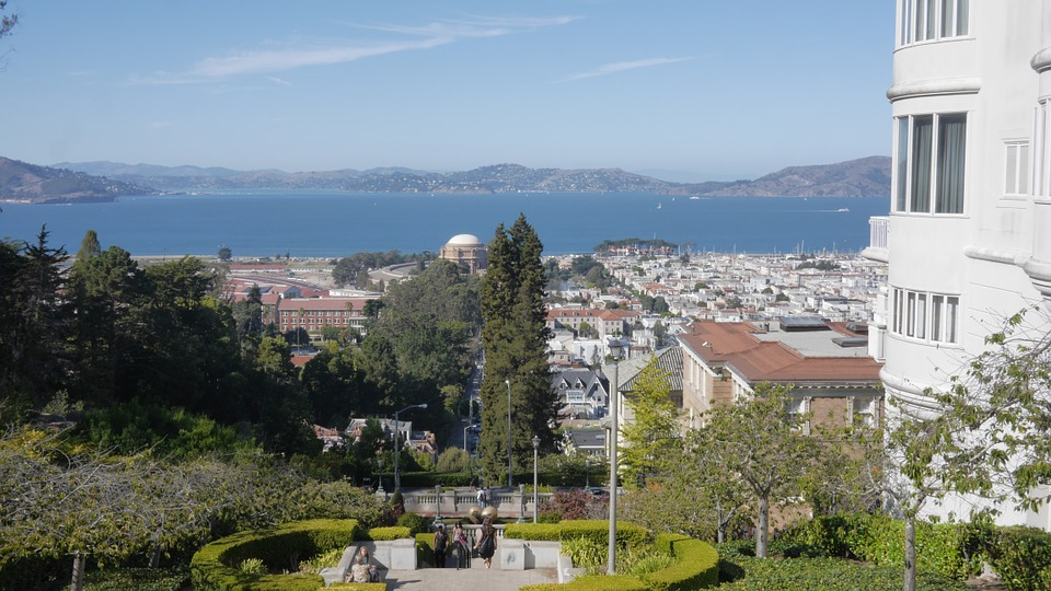 San, Fran, Francisco, California, Architecture, City