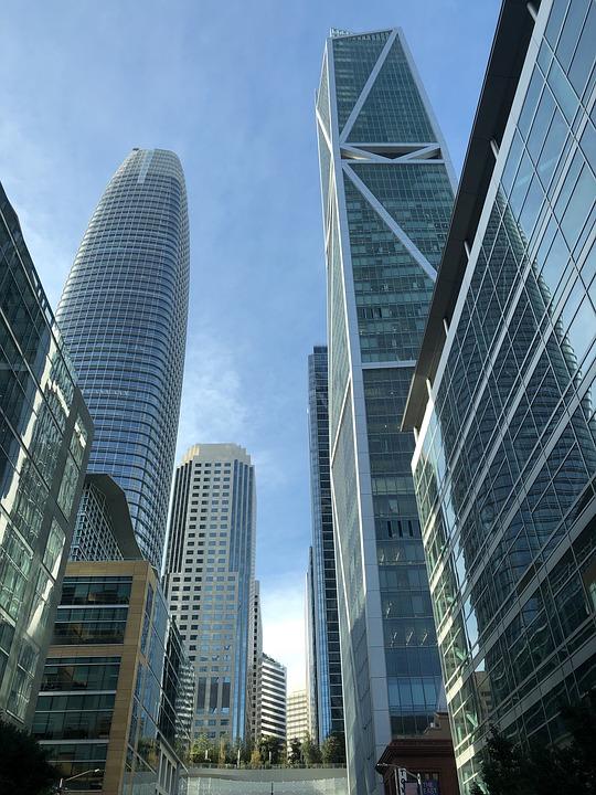 San Francisco, Downtown, Urban, Cityscape, Building