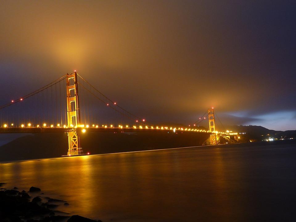 San Francisco, Golden Gate Bridge, Suspension Bridge