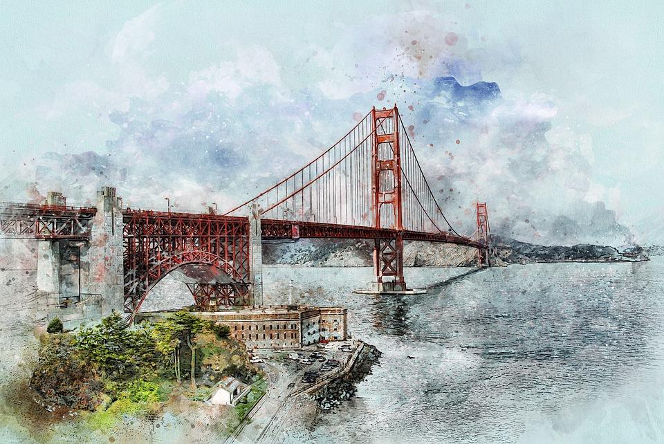 San, Fran, San Francisco, Golden Gate