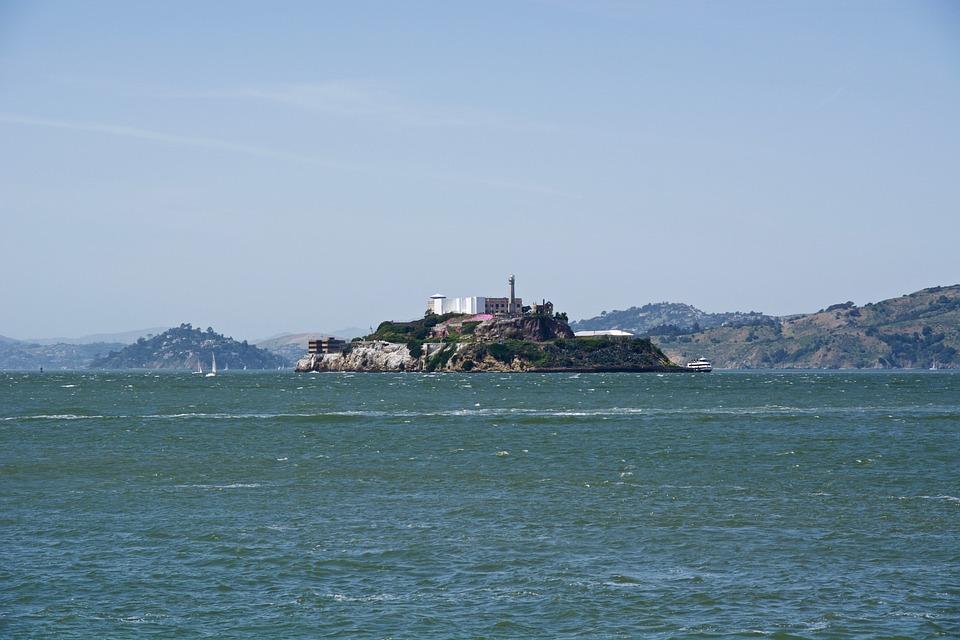 Alcatraz, San Francisco, California, Island, Landmark