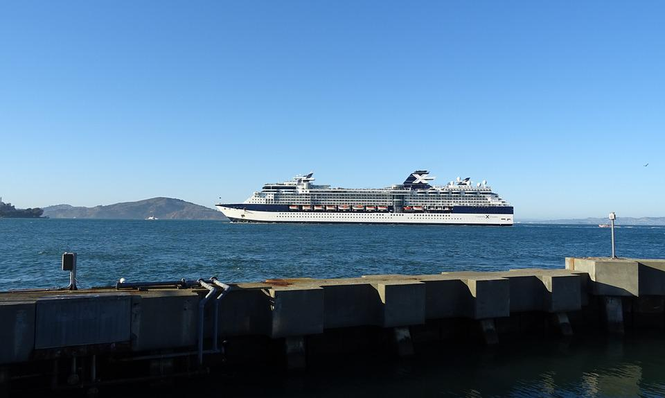 Cruise Liner, Water Front, Bay, San Francisco