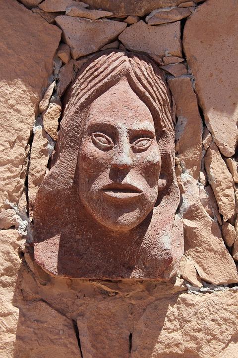 Art, Aymara, San Pedro De Atacama, Northern Chile
