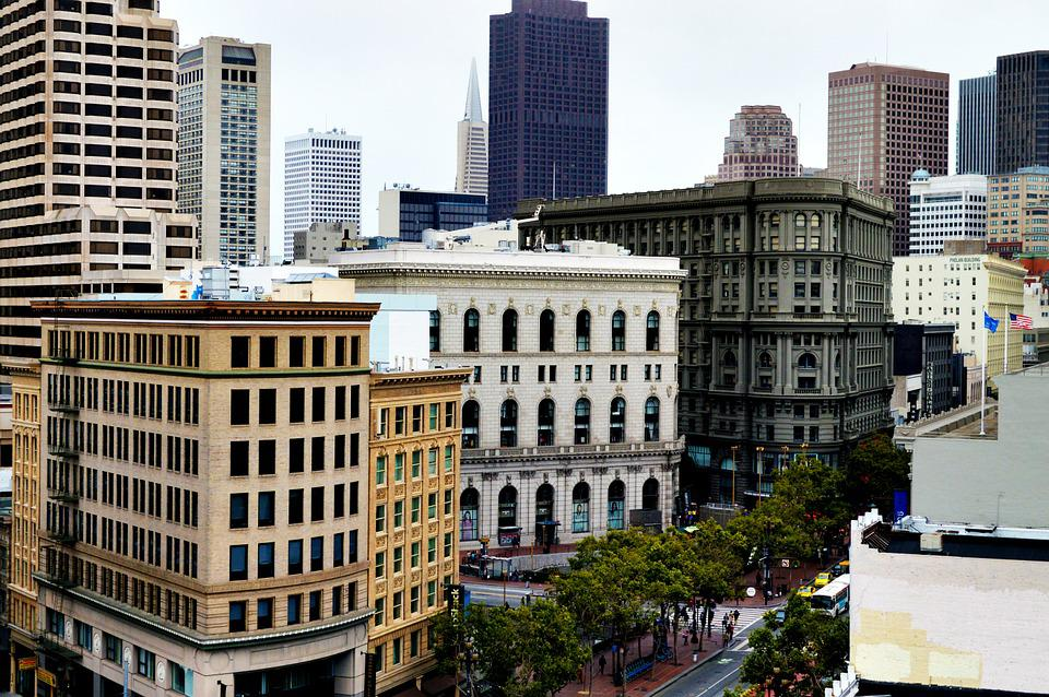 San Francisco, Skyline, Francisco, San, City