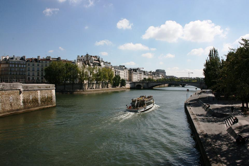 Seine River, Sanchez, Paris, Boat