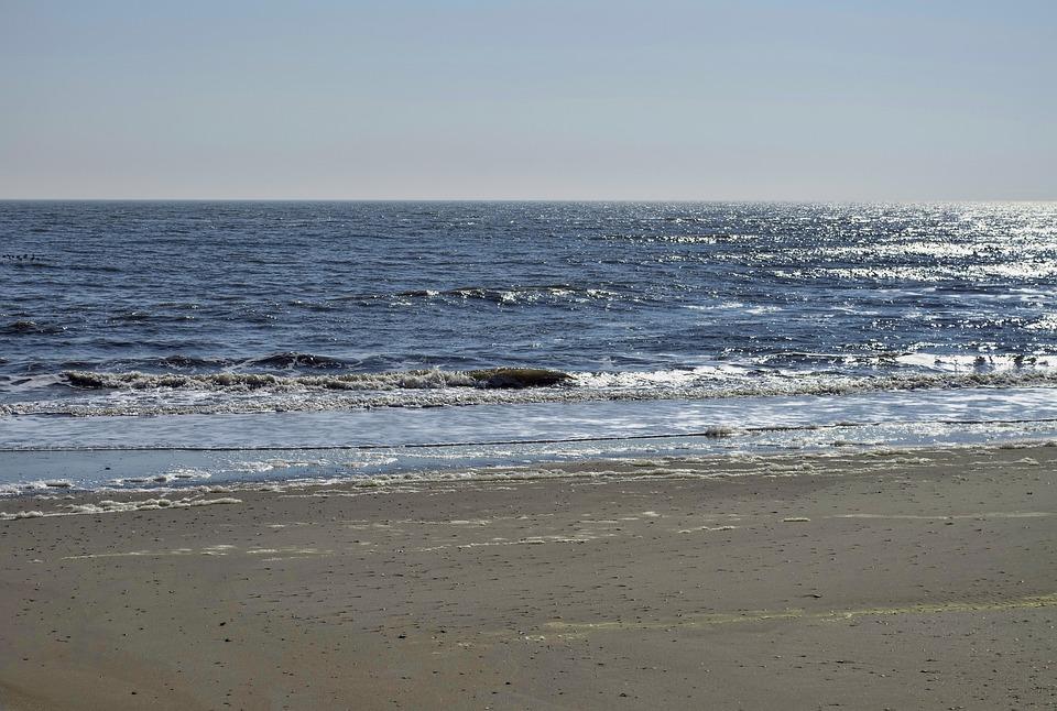 Beach, Atlantic City, Ocean, Sand, Vacation