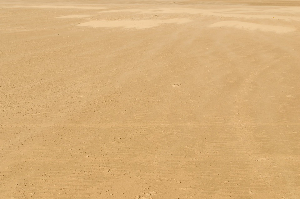 Sand Pattern Background Beach Sea Ocean Holiday