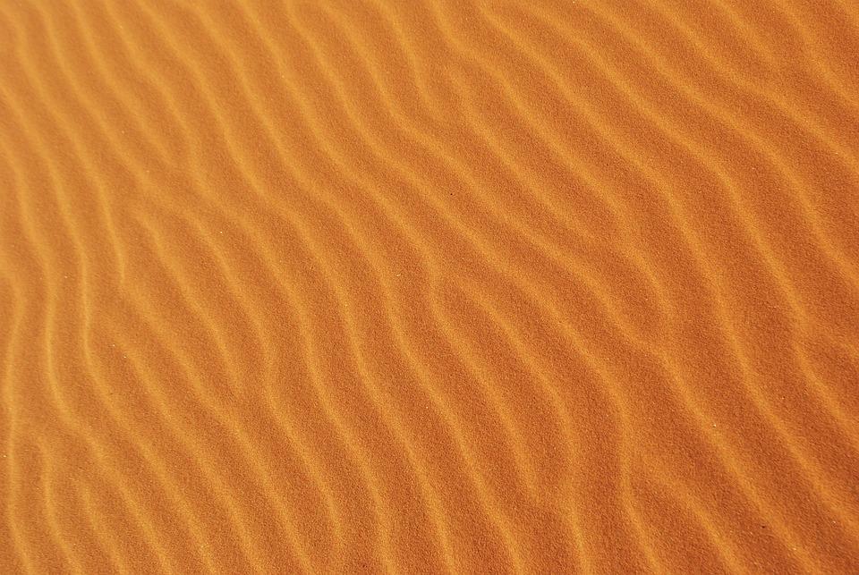 Desert, Dunes, Sand, Waves, Pattern, Sand Dunes, Barren