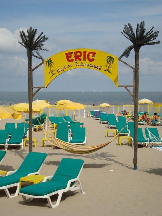 Blankenberge, Belgium, Beach, Sand, Summer, Sea, Eric