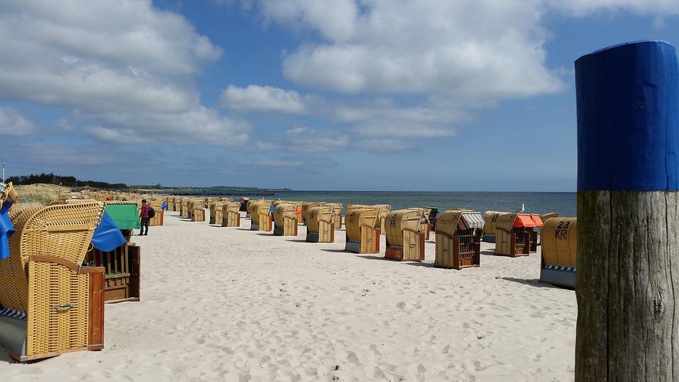 Beach, Beach Chair, Baltic Sea, Fehmarn, Sand, Sun, Sea
