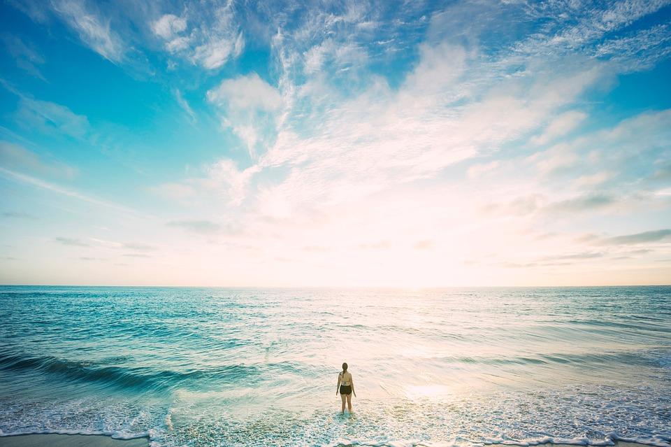 Beach, Horizon, Nature, Ocean, Outdoors, Sand, Sea