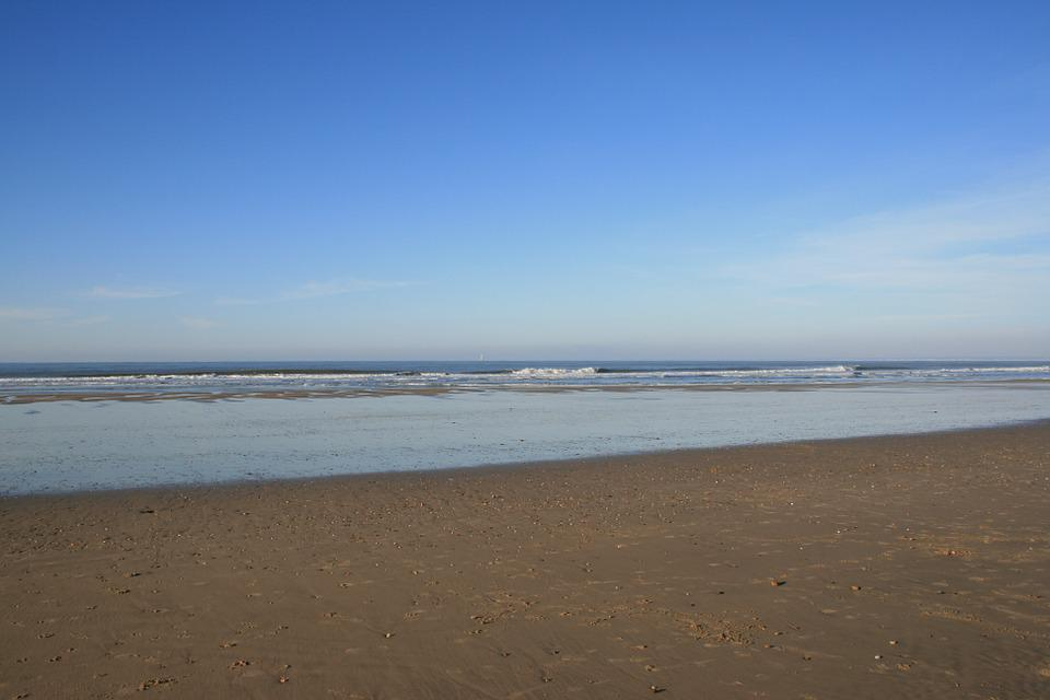 Ocean, Beach, Sand
