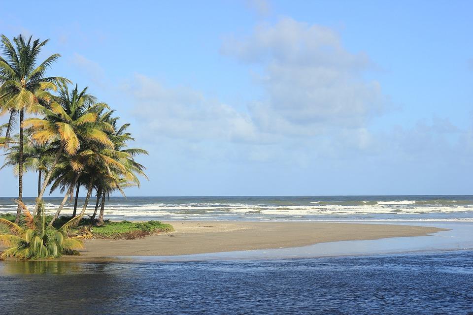 Trinidad, Beach, River, Sand