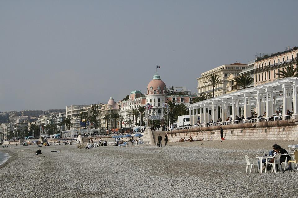 French Riviera, Côte D ' Azur, Beach, Sand, Sea