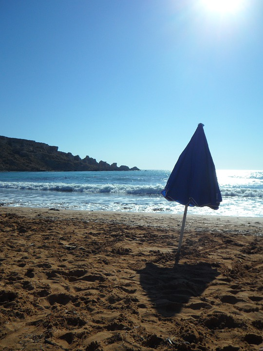 Back Light, Sea, Beach, Mood, Empty, Lonely, Sand Beach