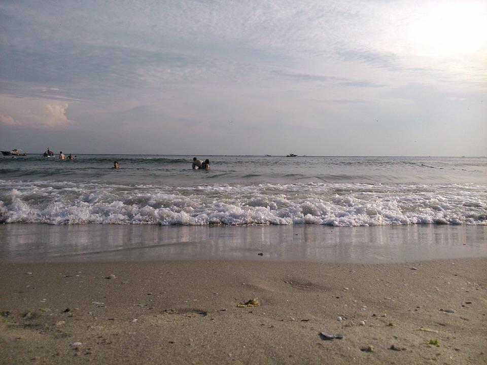 Beach, Ocean, Sea, Shore, Wave, Sandy, Sand
