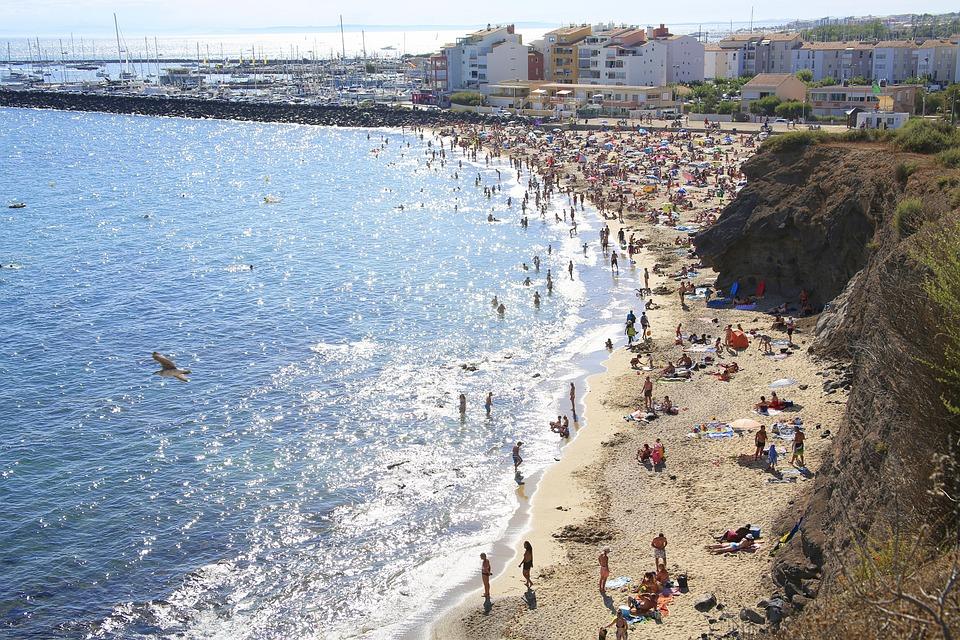 Beach, Summer, Holiday, Sea, Sand, Landscape, Blue