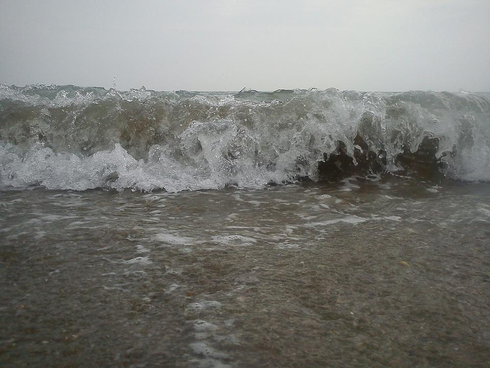 Wave, Beach, Sand, Wave Breaking, Foam, Sand Beach, Sea