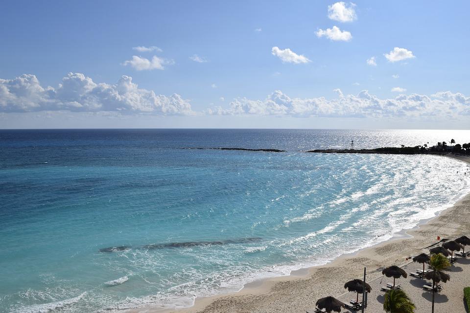 Ocean, Beach, Resort, Seashore, Coastline, Sea, Sand