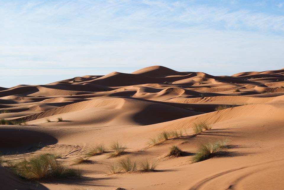 Desert, Dunes, Sand