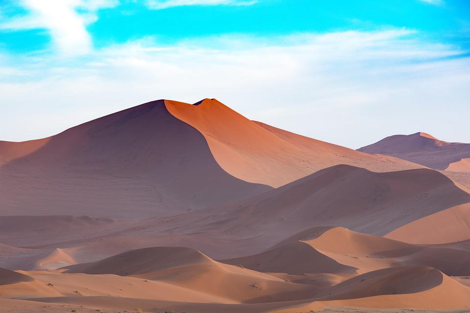 Africa, Sand Dune, Desert, Dry, Travel, Nature