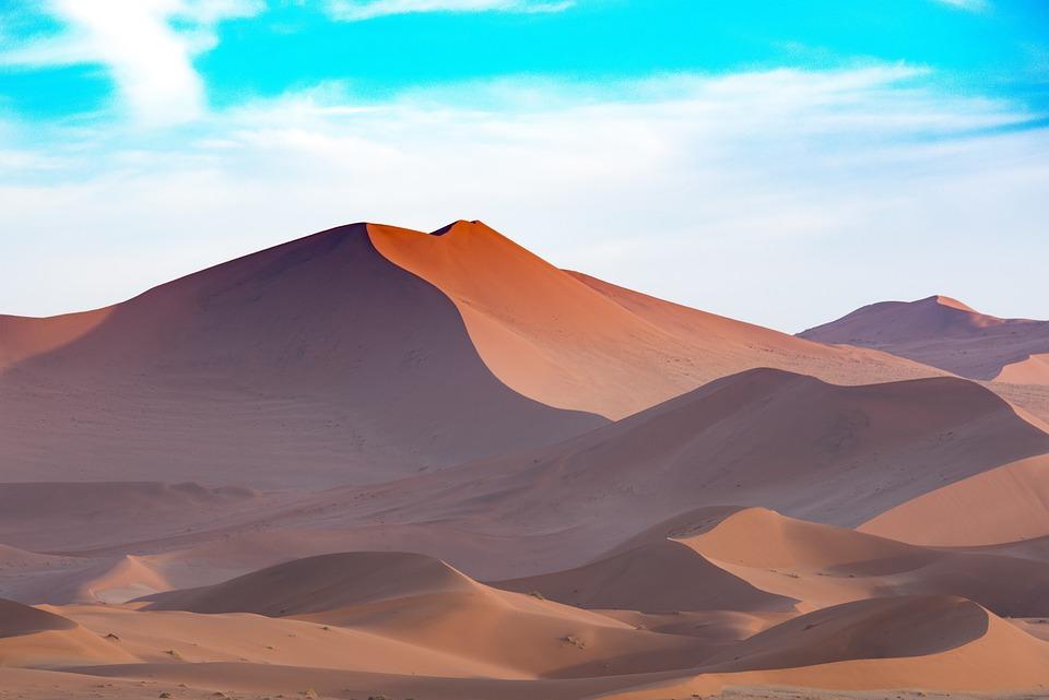 Africa, Sand Dune, Desert, Dry, Travel, Nature