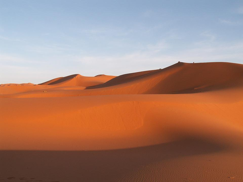 Travel, Morocco, Erfoud, Sand Dune, Desert, Sand