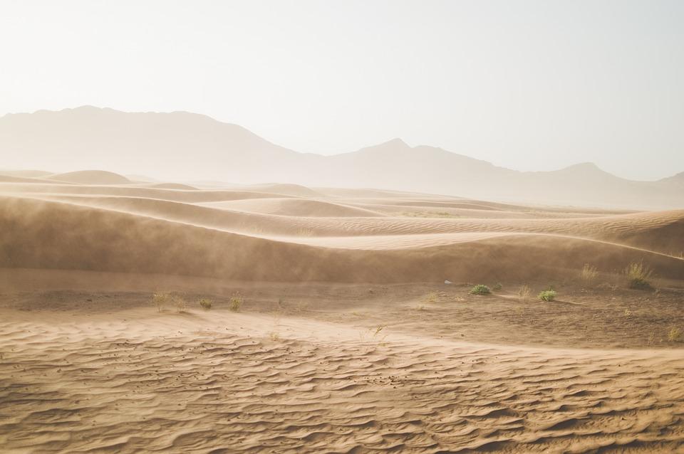 Desert, Mountain, Sand, Sand Dunes
