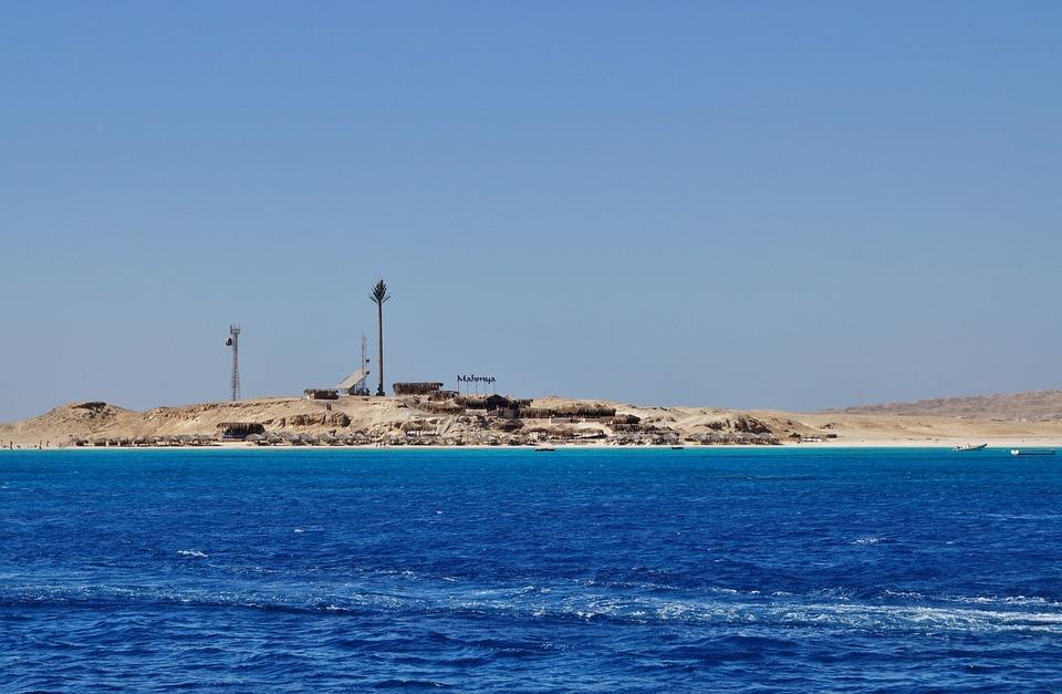 Egypt, Giftun, Island, Beach, Sand, The Red Sea, Sea