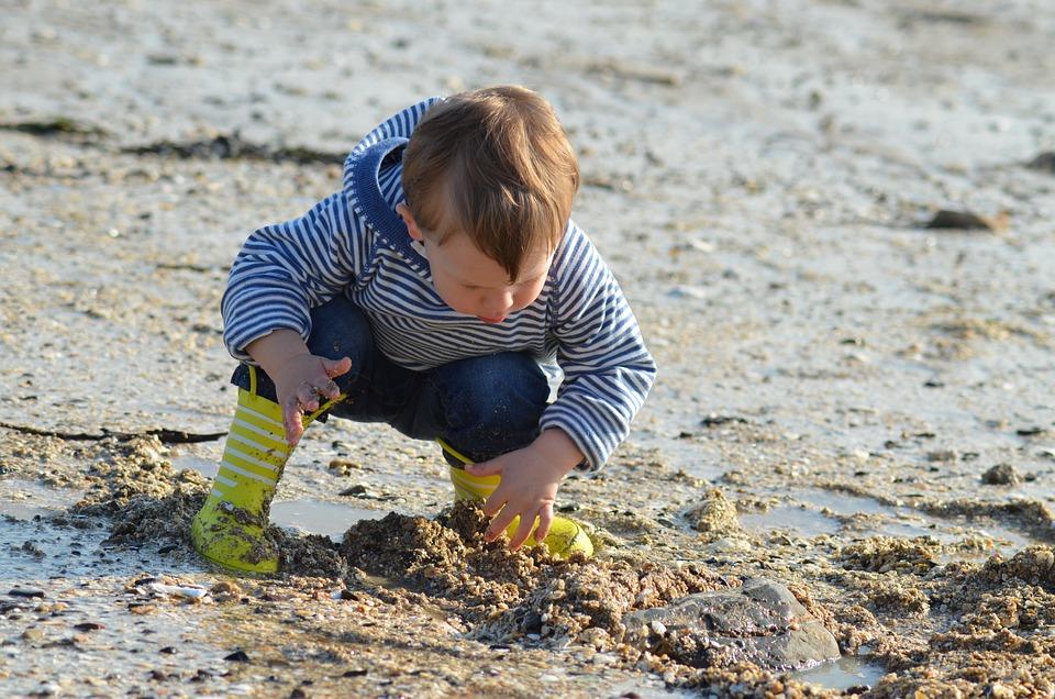 Child, Beach, Sand, Family, Sea, Happy, Summer