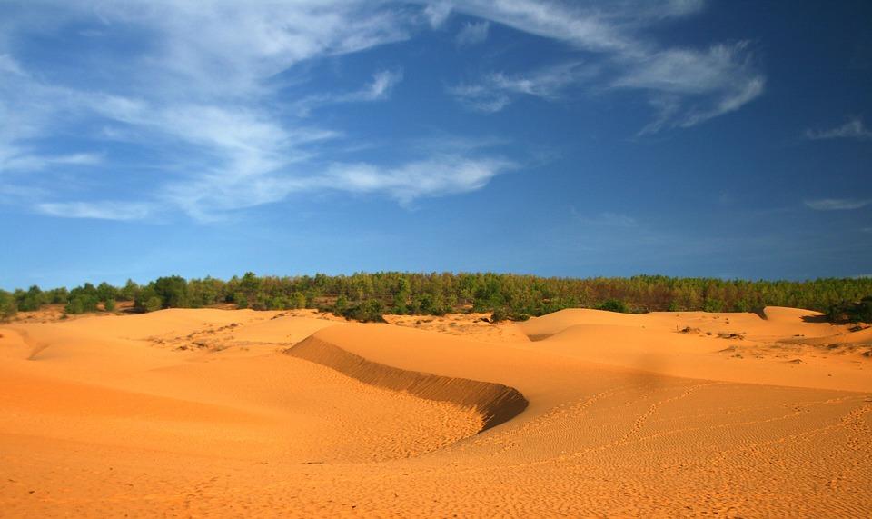 Sand Hill, Phan Thiet, Vietnam