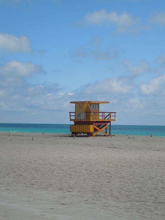 Beach, Sand, Holiday