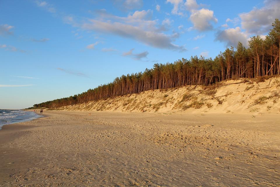 Beach, Dune, Sand, The Sand Dunes, Landscape, Holidays