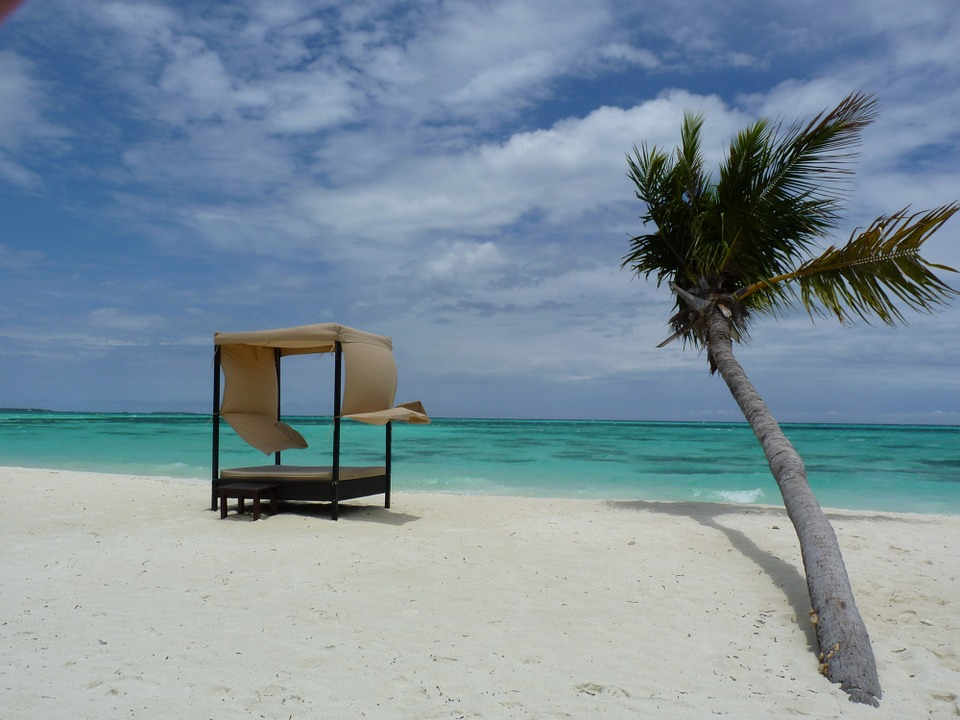 Beach, Island, Sand, Tranquil